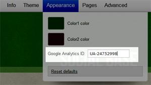 Inserindo código Google Analytics no Tumblr (Foto: Reprodução / Teresa Furtado)
