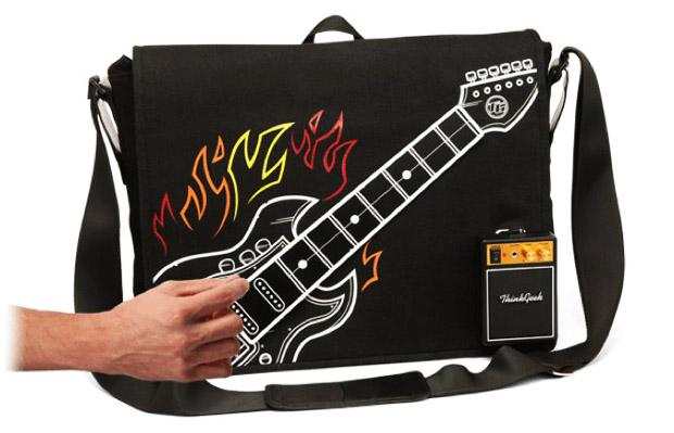 Bolsa guitarra para o seu laptop (Foto: Divulgação)