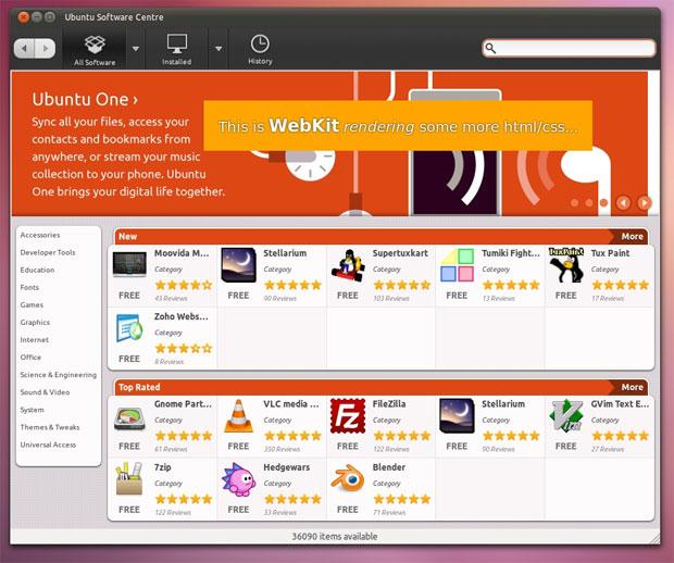 Ubuntu Software Centre (Foto: Reprodução/OMG Ubuntu)