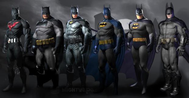 Skins para Batman: Arkham City  (Foto: Divulgação)