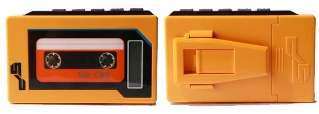 MP3 em formato de Walkman  (Foto: Divulgação)