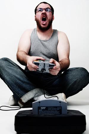 Gamer hardcore. (Foto: Divulgação)