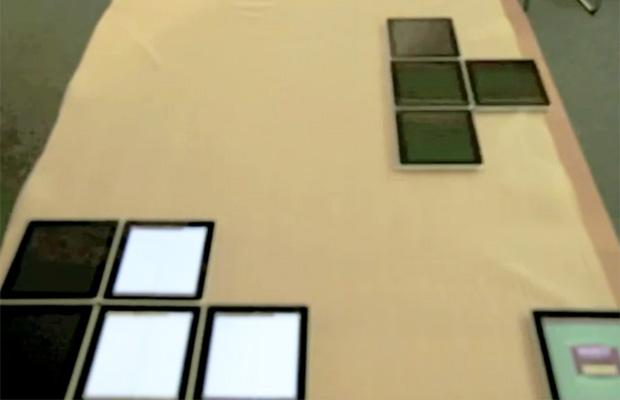 Tetris com Ipads (Foto: Reprodução)