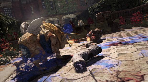 Decapitações marcam a ação de NeverDead (Foto: Divulgação)