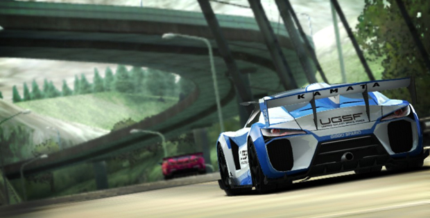 Trailer de Ridge Racer para o PS Vita é divulgado (Foto: Divulgação)