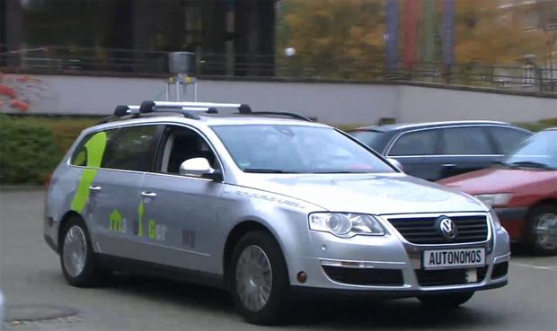 Carro autônomo (Foto: Reprodução)