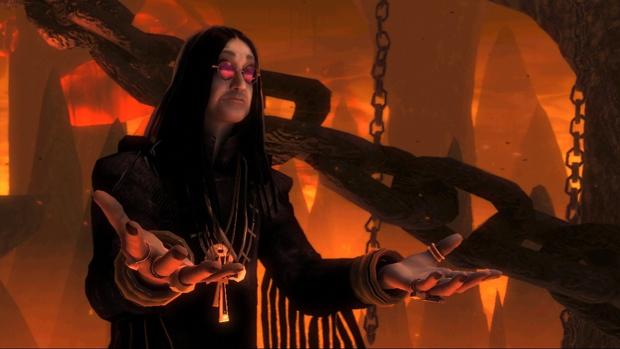Ozzy Osbourne em Brütal Legend (Foto: Divulgação)