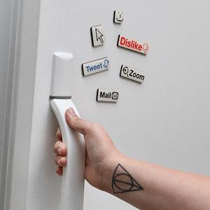 Imãs de geladeiras. (Foto: Divulgação)