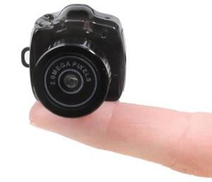 Micro-Câmera (Foto: Divulgação)