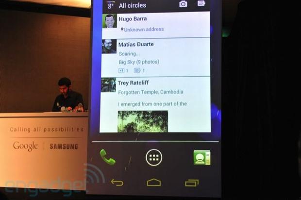 Android Ice Cream Sandwich (Foto: Reprodução/Engadget)