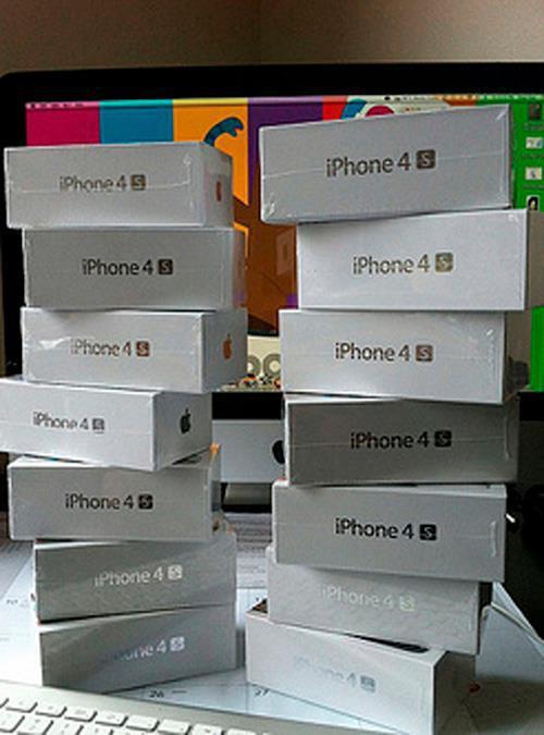 iPhone 4S prometido no Facebook é falso (Foto: Reprodução) (Foto: iPhone 4S prometido no Facebook é falso (Foto: Reprodução))