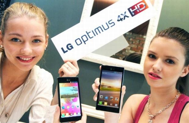 LG Optimus 4X HD, com processador NVIDIA Tegra 3 quad-core (Foto: Divulgação)