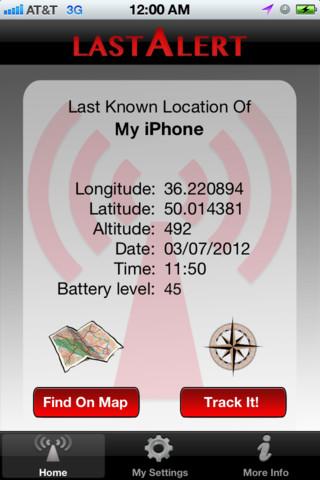 App mostra onde seu smartphone foi visto pela última vez (Foto: Reprodução)