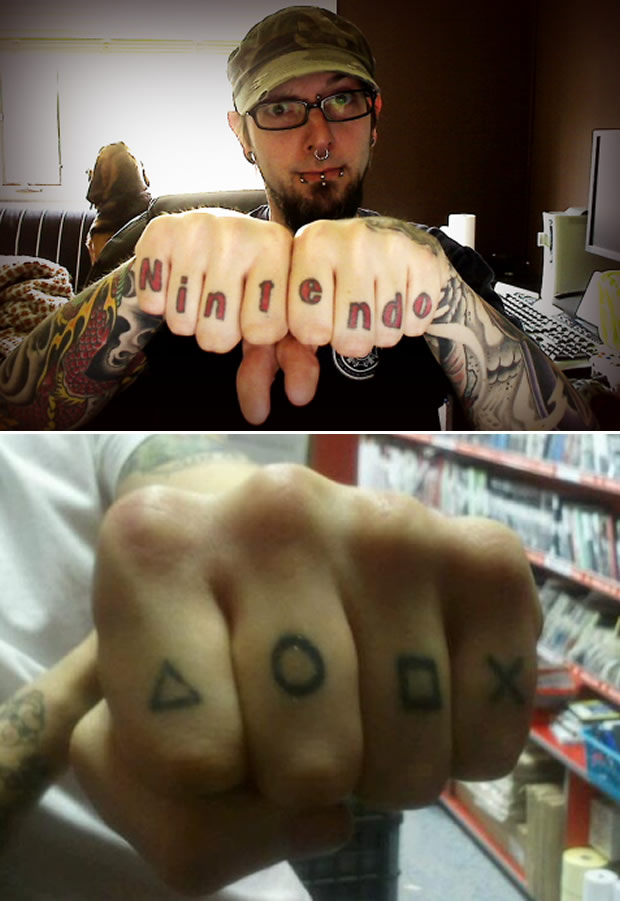 Tatoo gamer (Foto: Geeky Tatoos)