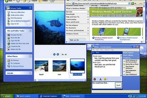 Windows XP (Foto: Reprodução / BBC.co.uk)