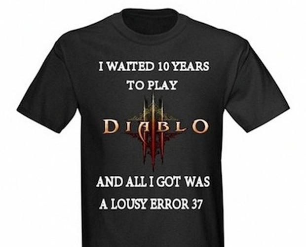 """""""Eu esperei 10 anos para jogar Diablo 3. E tudo que eu ganhei foi um Error 37 sem graça"""" (Foto: IGN)"""