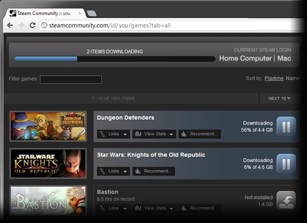 Atualização permite download remoto de jogos (Foto: Divulgação)