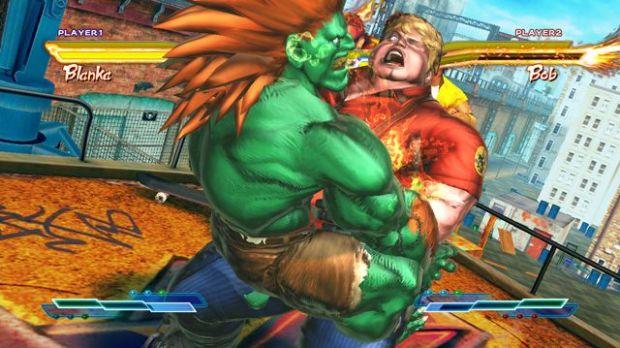 Blanka em Street Fighter x Tekken (Foto: Divulgação)