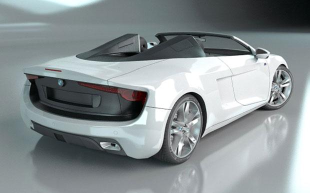 Design agressivo do conversível remete ao Audi R8 (Foto: Divulgação)
