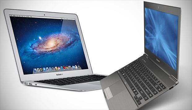 MacBook Air versus Ultrabooks (Foto: Reprodução/UltrabookReview)