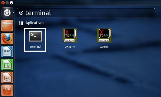 Abrindo um terminal (Foto: Reprodução/Edivaldo Brito)