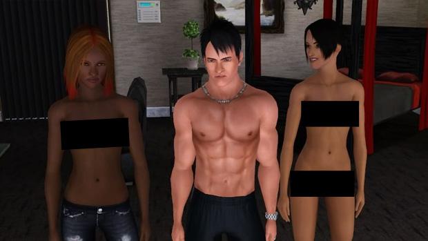 The Sims 3 virou comercial de desodorante (Foto: Divulgação)