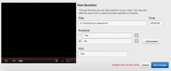 Nova função permite perguntas em vídeos do YouTube (Foto: Reprodução)