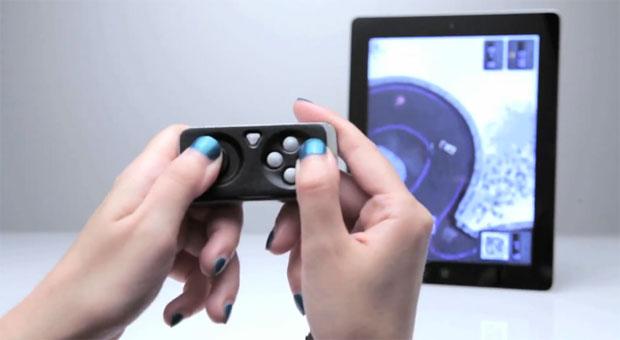 O iMpulse é chaveiro, controle remoto e joystick em um só dispositivo (Foto: Reprodução)