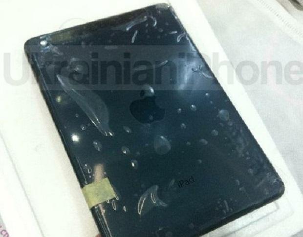 iPad Mini vai ser todo preto na parte traseira (Foto: Reprodução)