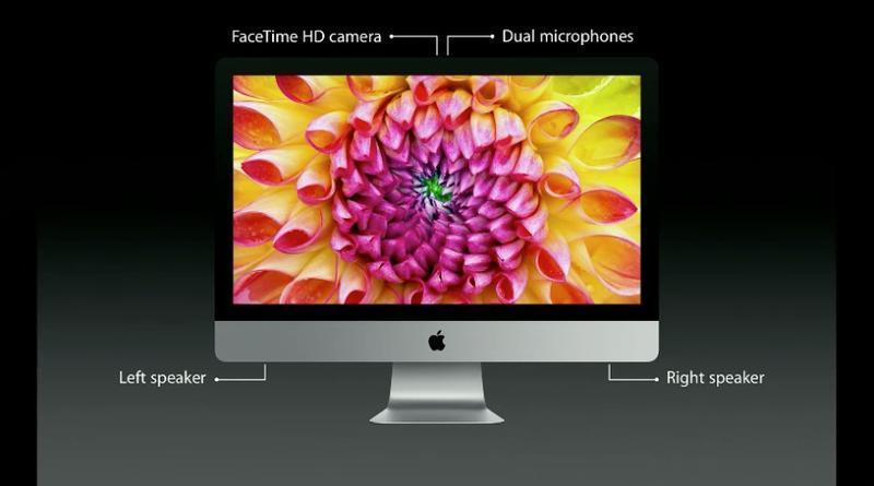 iMac tem opções de display de 21,5 e 27 polegadas (Foto: Reprodução)