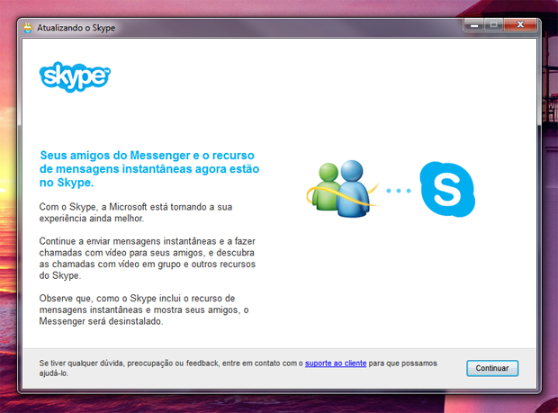 1 atualizando o skype