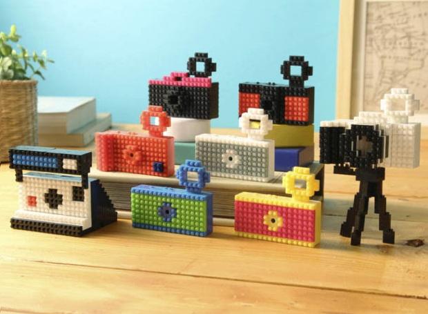 Nanoblock Fuuvi, câmera montável no estilo Lego (Foto: Reprodução)