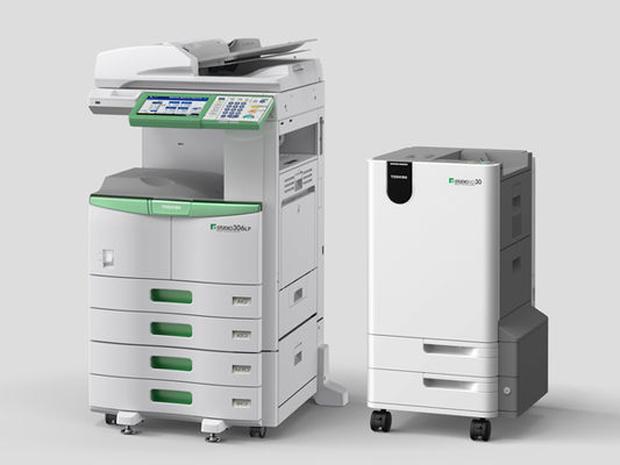 Multifuncional da Toshiba imprime, apaga e reaproveita folhas de papel até cinco vezes (Foto: Reprodução)
