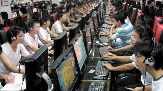 Cibercafés são especialmente populares para jogos em países como China e Coreia do Sul (Foto: Divulgação)