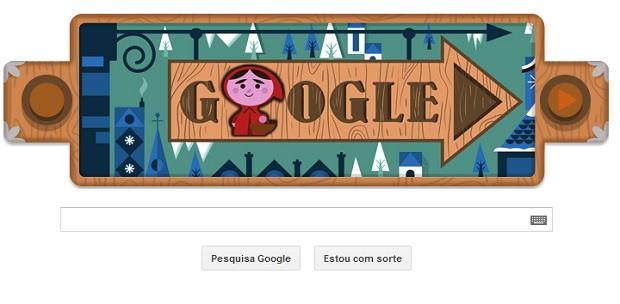 Os irmãos Grimm, Jacob e Wilhelm Grimm são homenageados pelo Google (Foto: Reprodução/Google)