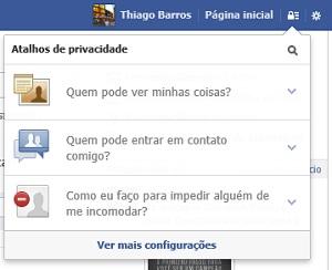 Facebook agora oferece tutorial sobre privacidade (Foto: Reprodução Facebook)