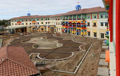 O  Legoland será o primeiro hotel temático de LEGO da América do Norte (Foto:Divulgação)
