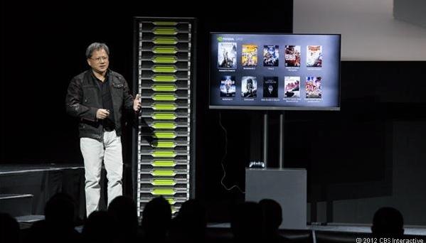 CEO da companhia aposta em jogos pela nuvem (Foto: Reprodução CNET)