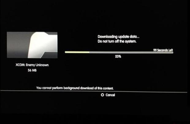 Atualizar jogos do PS3 pode ser uma tarefa de paciência (Foto: Reprodução)