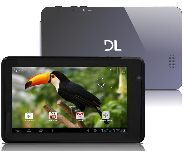 O DL HD7 é o tablet mais barato com Android disponível atualmente (Foto: Divulgação)