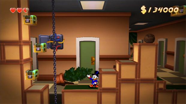 Tio Patinhas está de volta com sua fiel bengala em DuckTales Remastered (Foto: Divulgação)