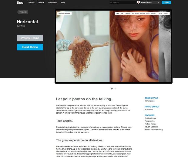 Portfólios do 500px tornam exibição de fotos simples e bonita (Foto: Divulgação) (Foto: Portfólios do 500px tornam exibição de fotos simples e bonita (Foto: Divulgação))