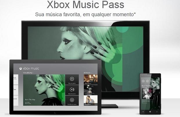 Xbox tem serviço de música mais limitado (Foto: Reprodução/Thiago Barros)
