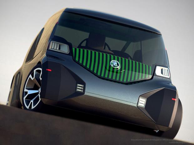 Carro aproveita melhor o espaço interno (Foto: Reprodução)