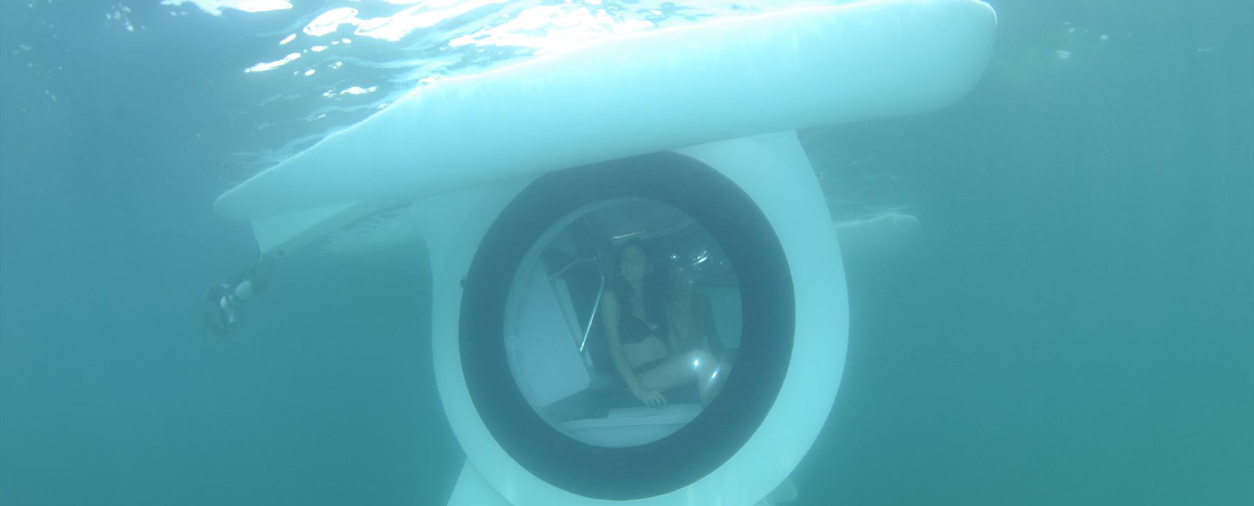 É possível ver sob a água (Foto: Divulgação)