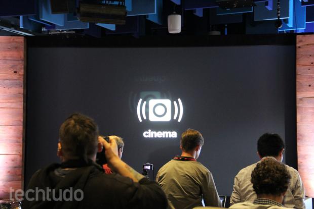 Efeito Cinema instagram (Foto: Fabricio Vitorino/TechTudo)