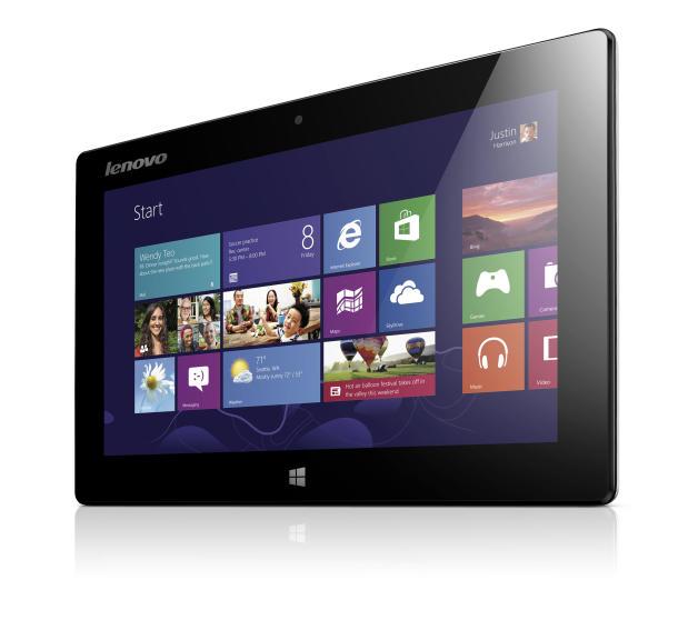 Lenovo Miix:  tablet Windows 8 com teclado integrado. (Foto: Divulgação)