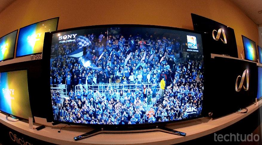 Novo aparelho da Sony chega nesta semana ao Brasil (Foto: Fabrício Vitorino/TechTudo)