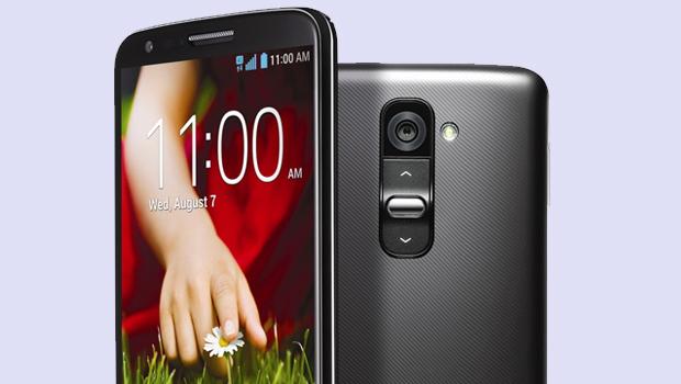 LG G2 é o novo top de linha com Android (Foto: Divulgação)