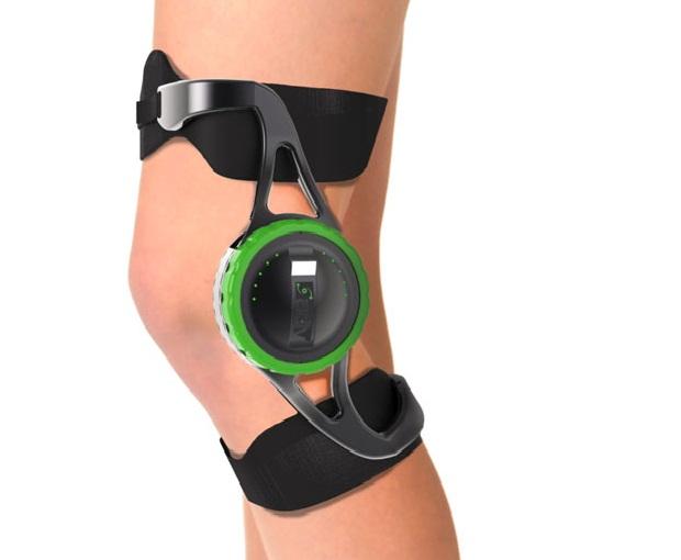 Dispositivo carrega celular usando energia do joelho (Foto: Reprodulção/ yankodesign)